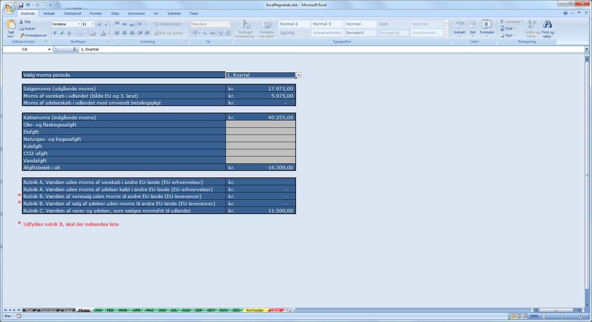regnskabsprogram til mac
